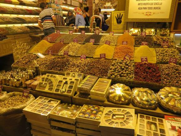 Turkish spices in the Spice Market