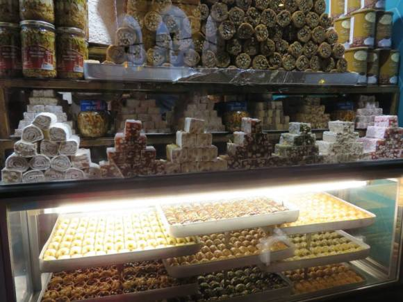 More delicious looking Turkish sweets along Divan Yolu