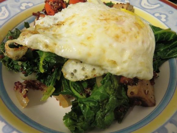 Quinoa Kale Stir-Fry